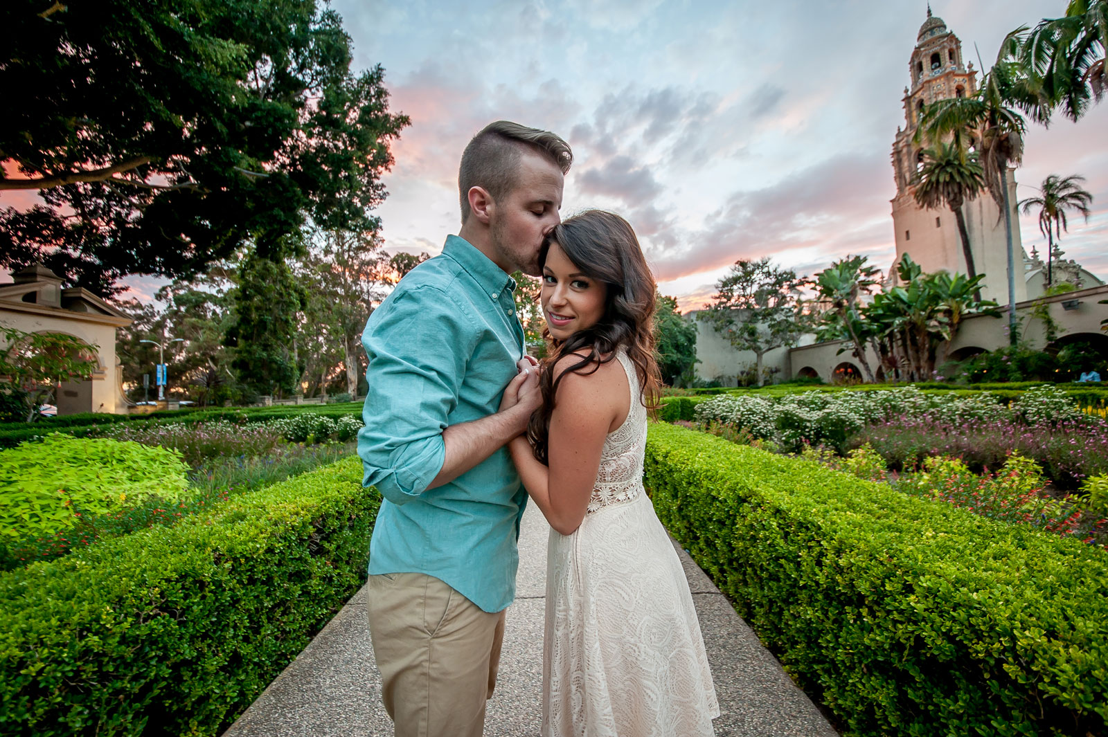 Engagement Photography | Balboa Park San Diego | Mel and Tim Photography