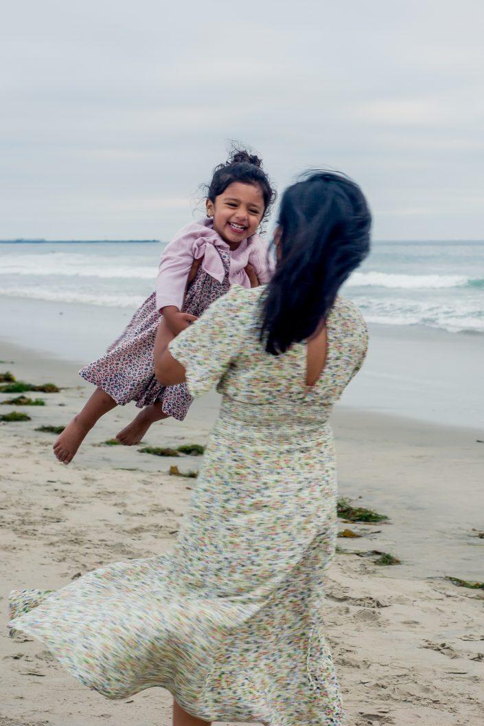 Beach Family Photo Shoot San Diego Mel and Tim Photography