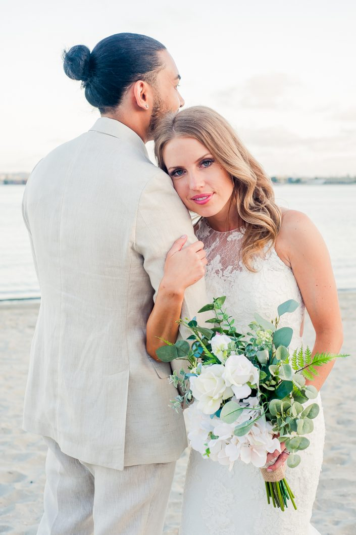 Country Coastal Wedding San Diego by Mel and Tim Photography