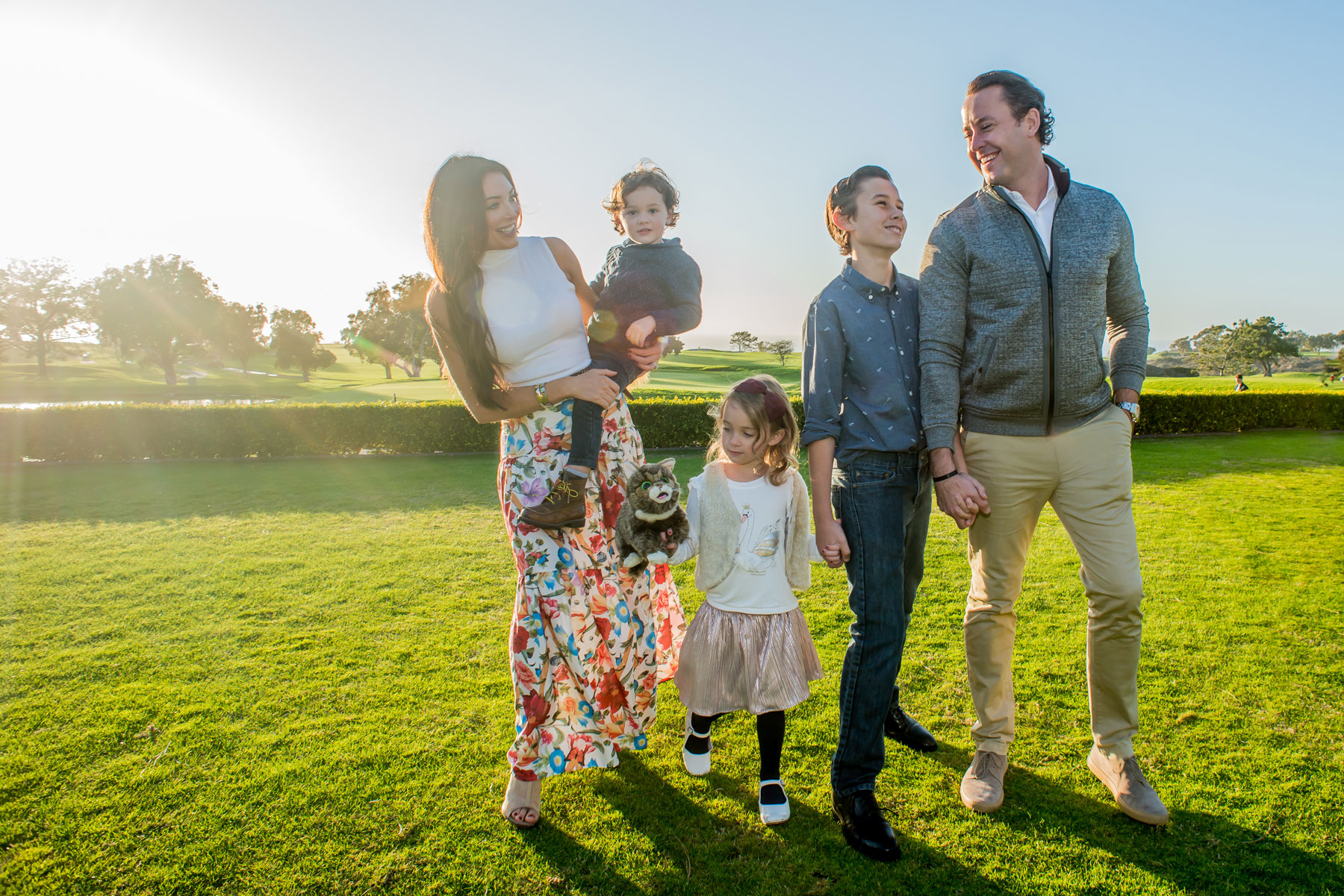 Gleeson Family Mel and Tim Photography